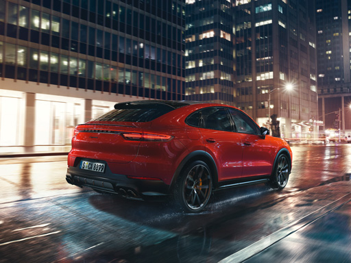 Exklusives Leasingangebot für private Kunden: Porsche Cayenne Coupé