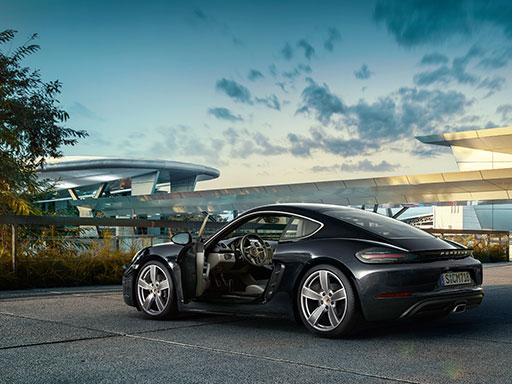 Exklusives Leasingangebot für gewerbliche Kunden: Porsche 718 Cayman