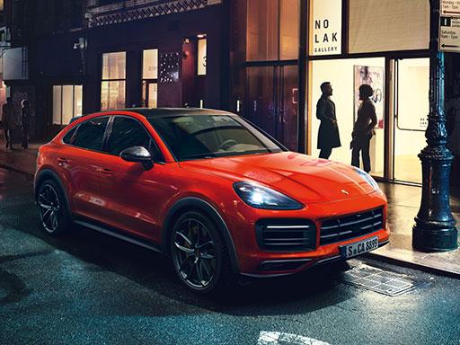 Exklusives Leasingangebot für gewerbliche Kunden: Porsche Cayenne Coupé