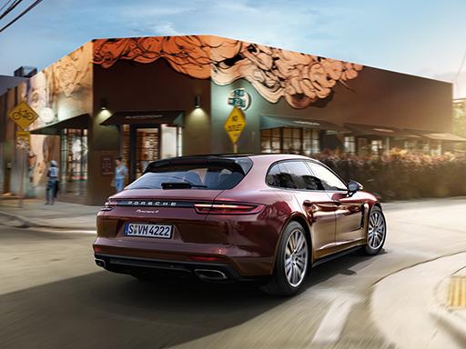 Exklusives Leasingangebot für gewerbliche Kunden: Porsche Panamera 4 Sport Turismo