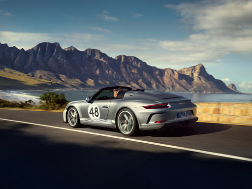 Tribute to a dream. The new 911 Speedster.